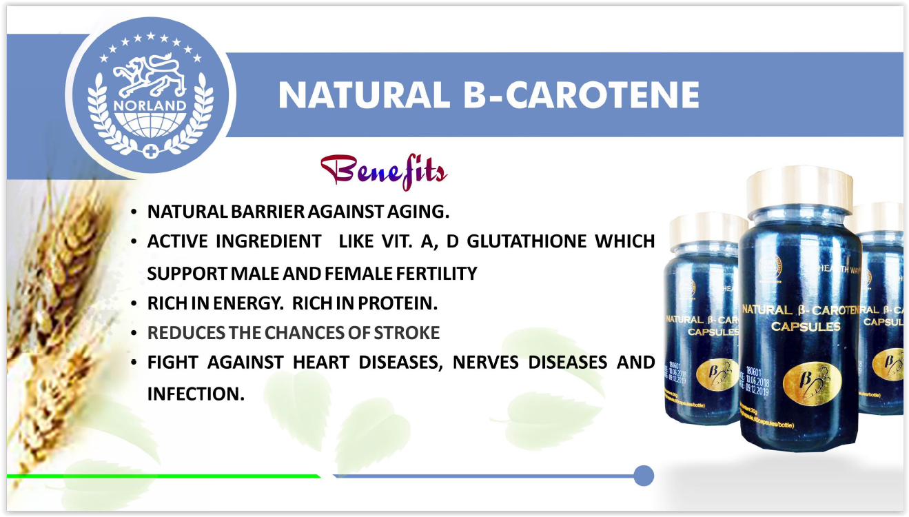 Norland Shopzone - Buy Norland Products - B-Carotene